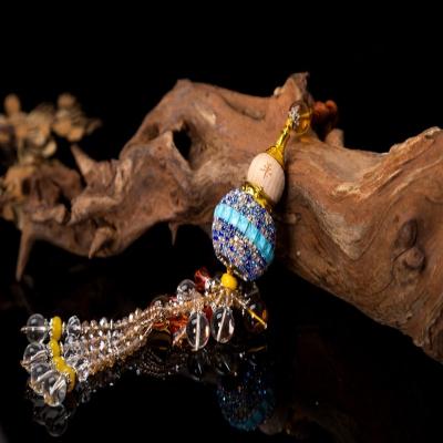 镶钻香水葫芦水晶穗汽车饰品挂件